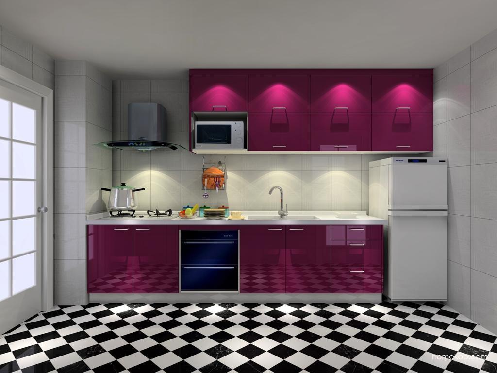 紫晶魅影橱柜F8140