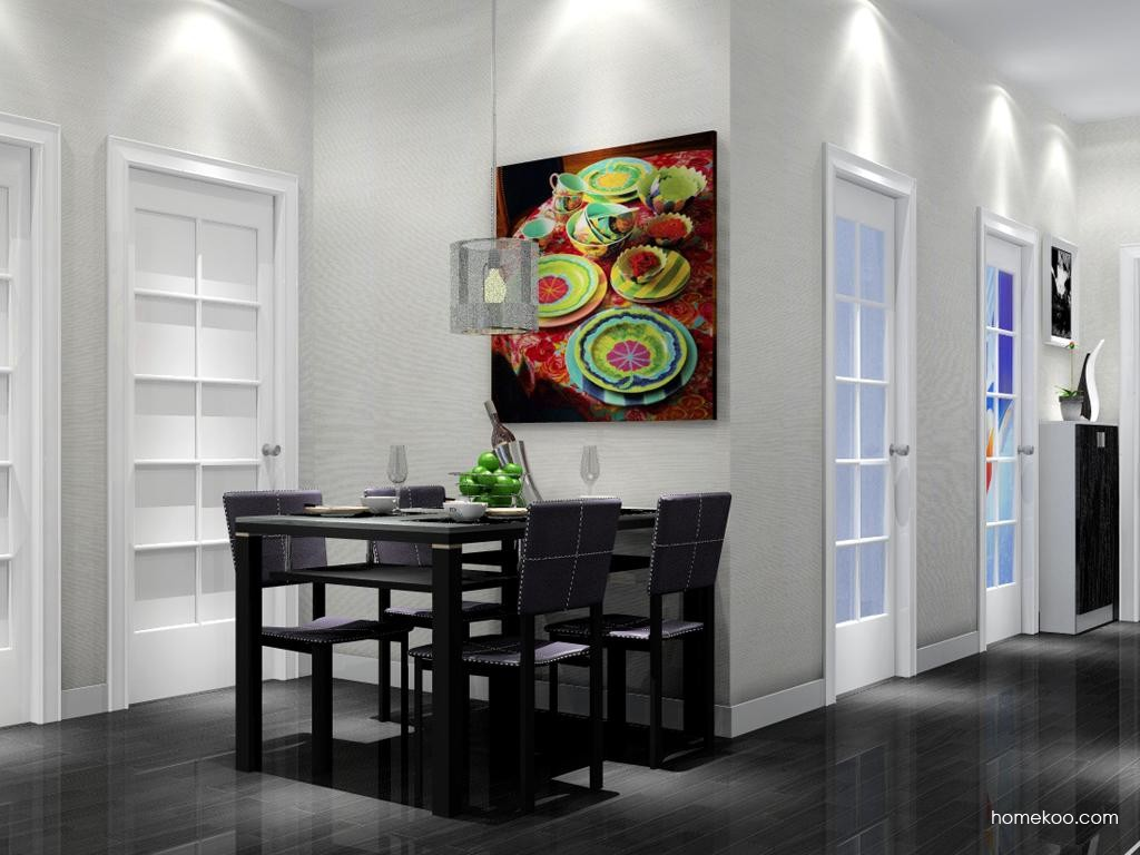 简约主义餐厅家具E2166