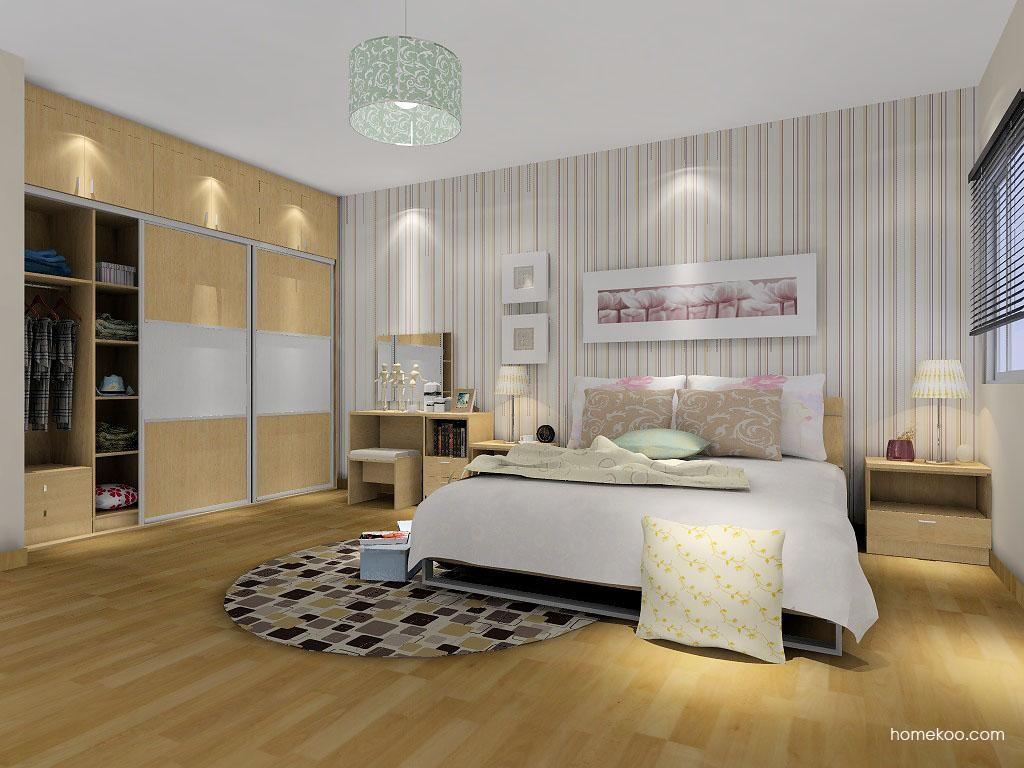 新实用主义卧房家具A4683