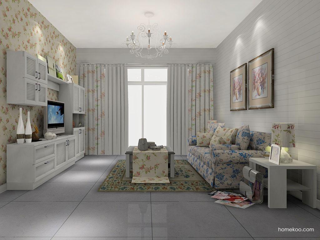 韩式田园客厅家具D7365