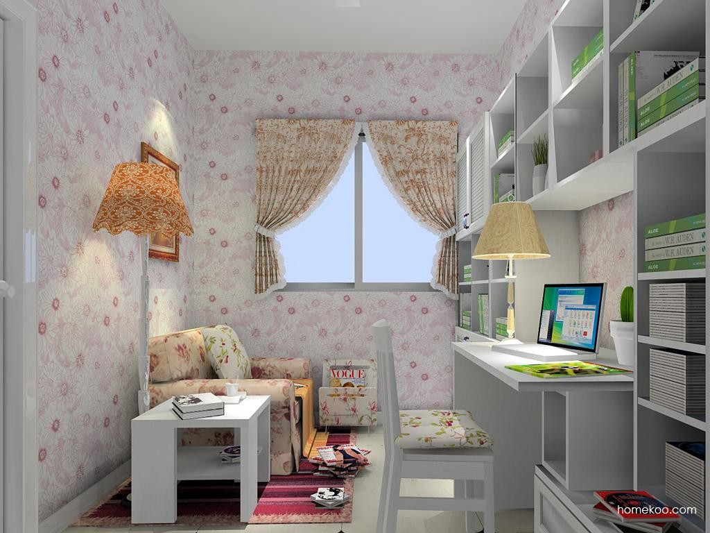 韩式田园书房家具C4687