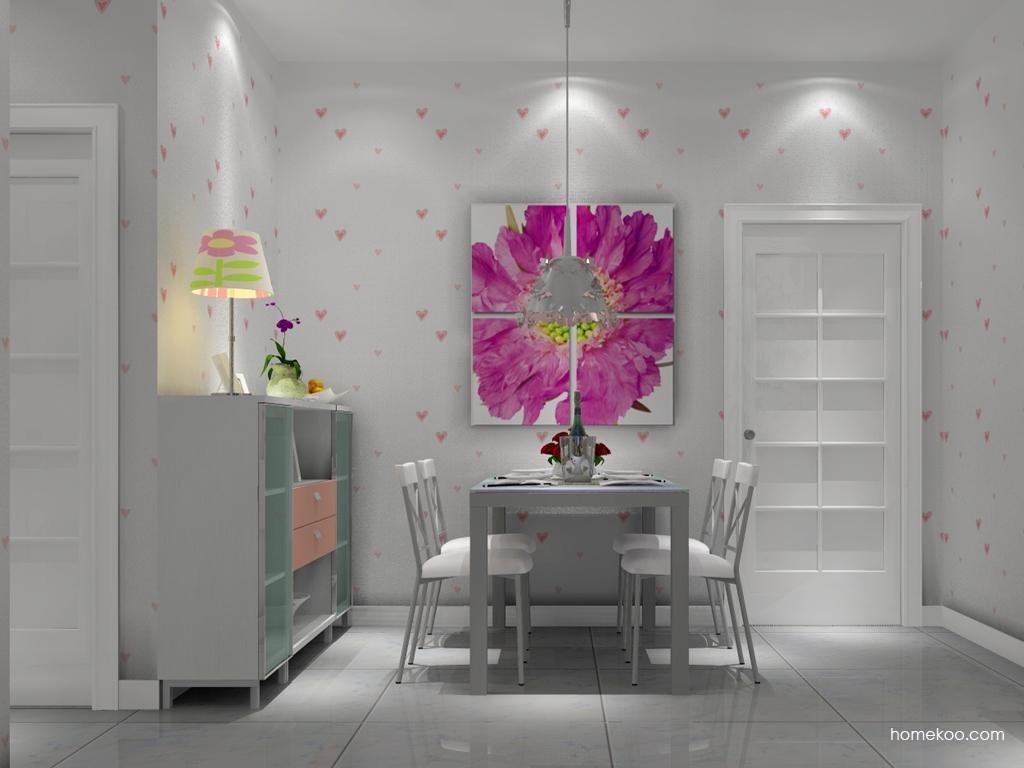 浪漫主义餐厅家具E2175