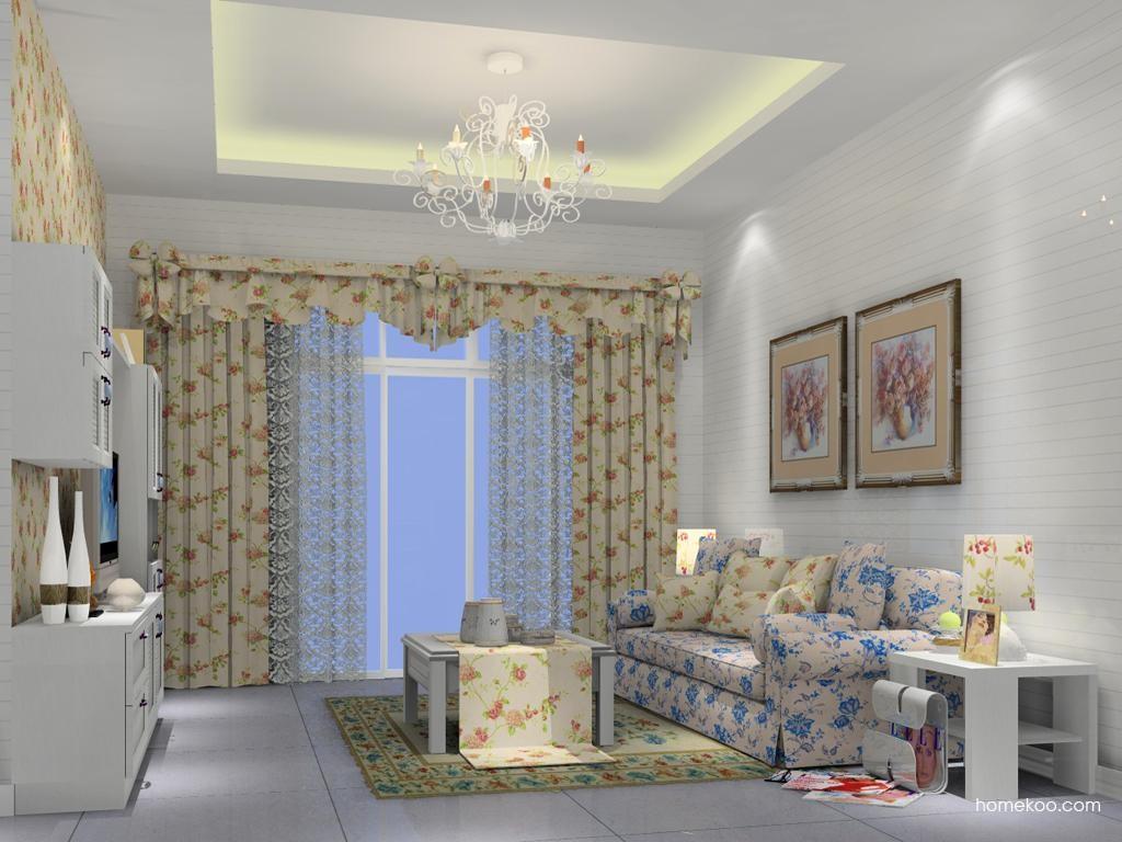 韩式田园客厅家具D7369