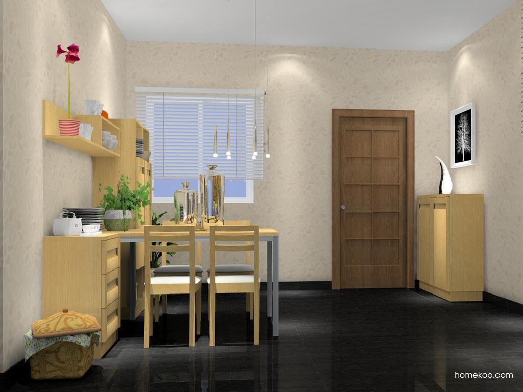 丹麦本色餐厅家具E2183