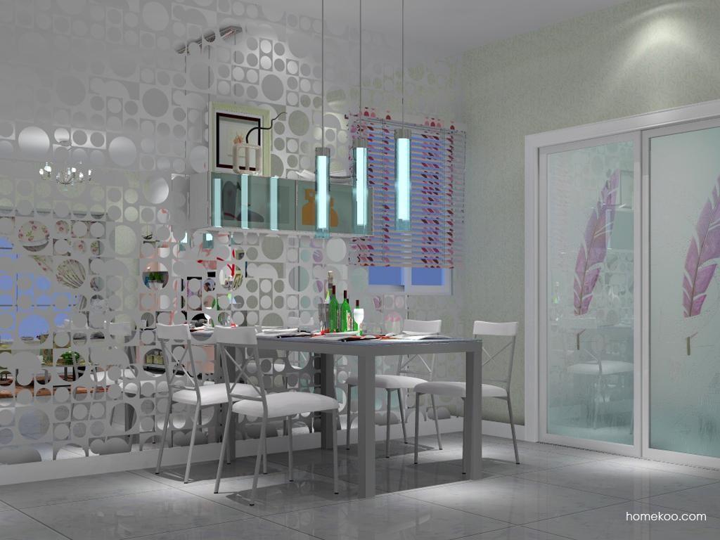 浪漫主义餐厅家具E2184