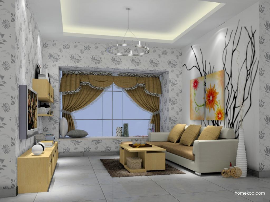 丹麦本色客厅家具D7379