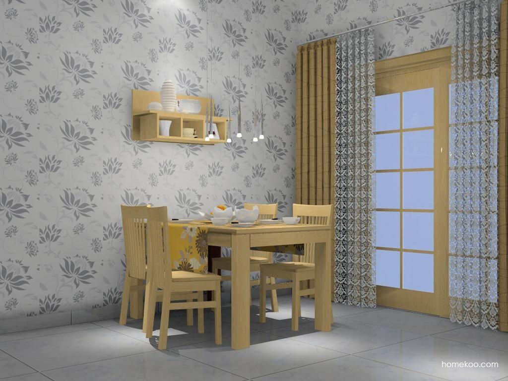 丹麦本色餐厅家具E2207