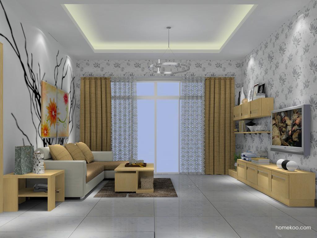 丹麦本色客厅家具D7398