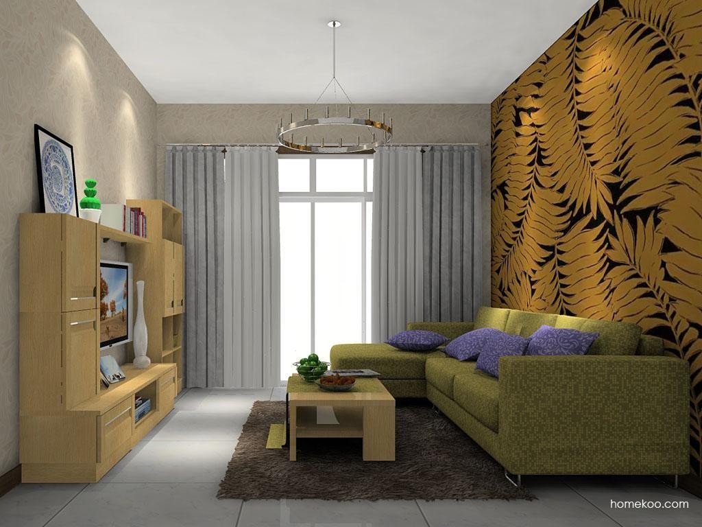 丹麦本色客厅家具D7408