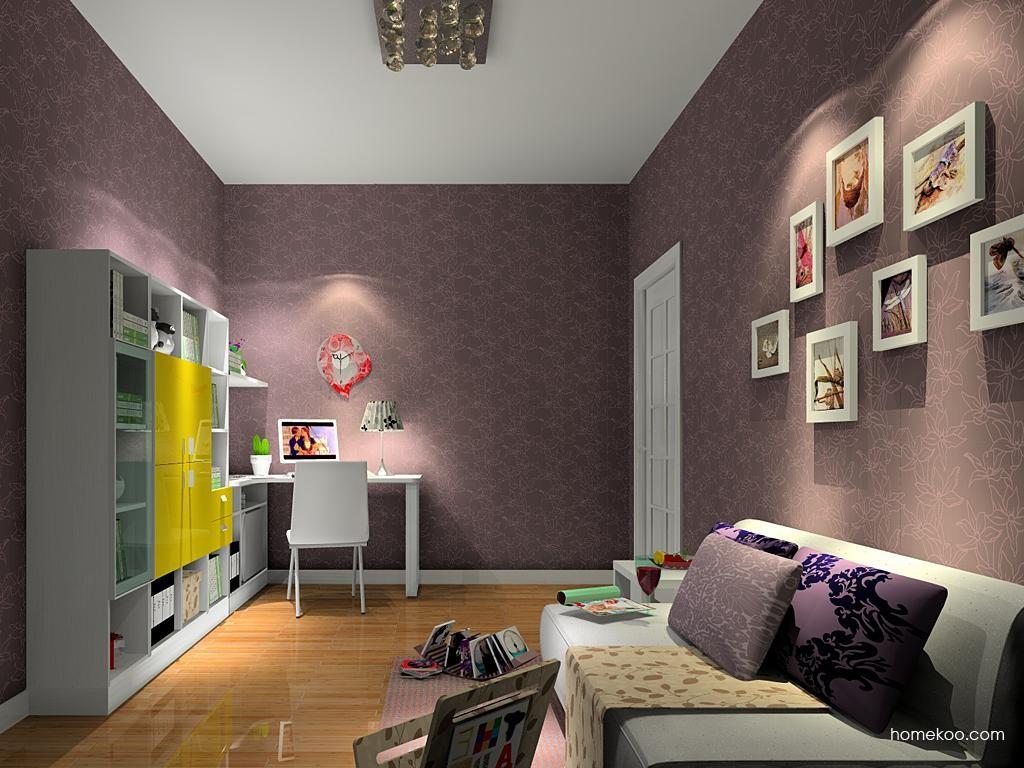 浪漫主义书房家具C4760