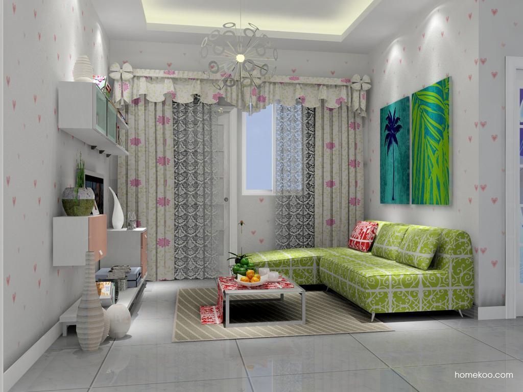 浪漫主义客厅家具D7410