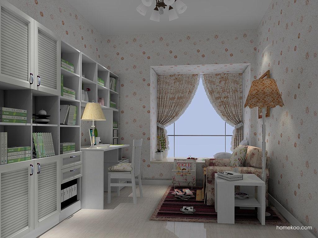 韩式田园书房家具C4773