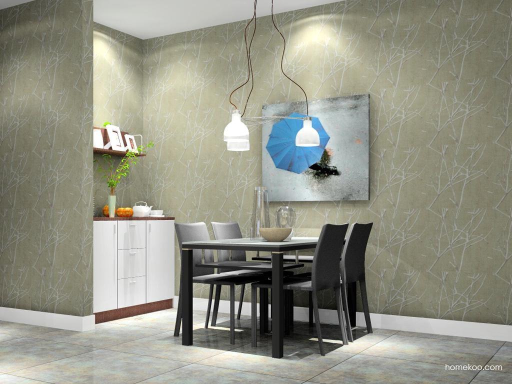 新实用主义餐厅家具E2228