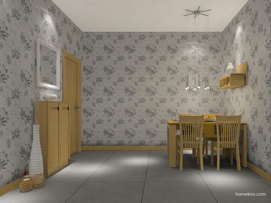 丹麦本色餐厅家具E2273