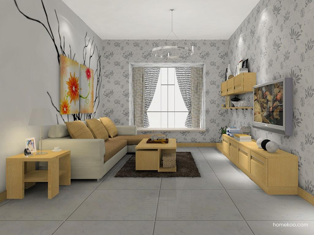 丹麦本色客厅家具D7464
