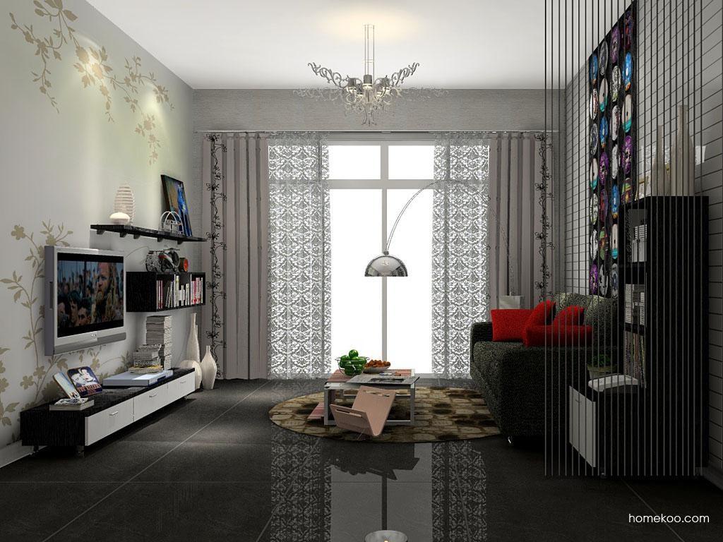 简约主义客厅家具D7466