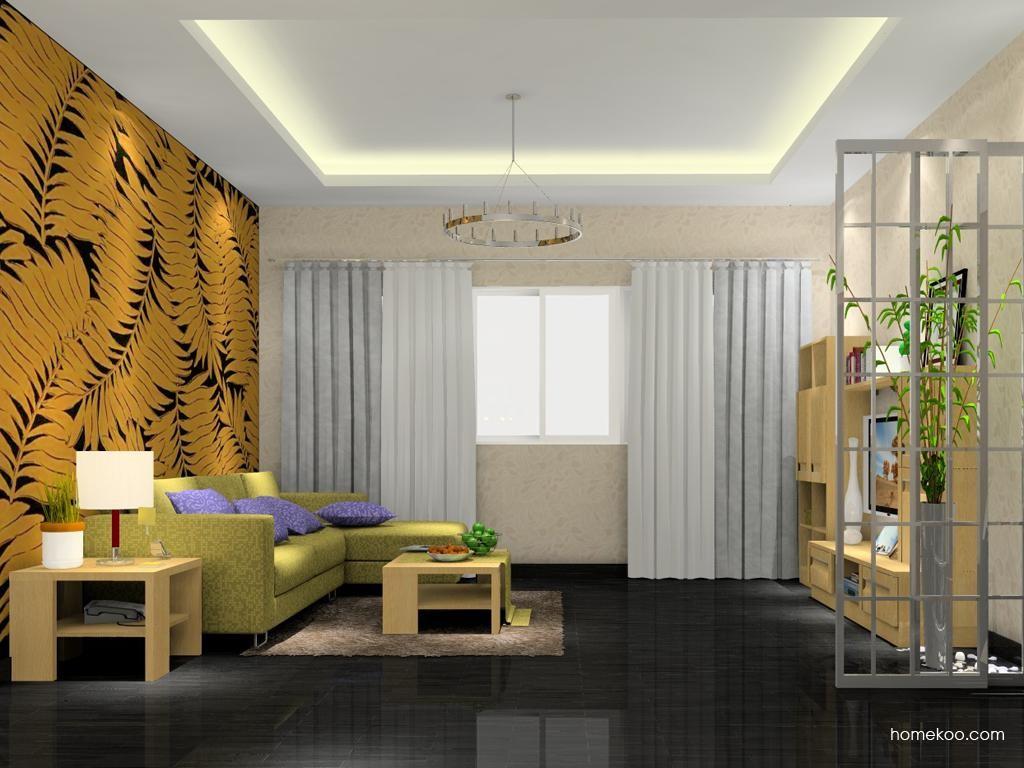 丹麦本色客厅家具D7469