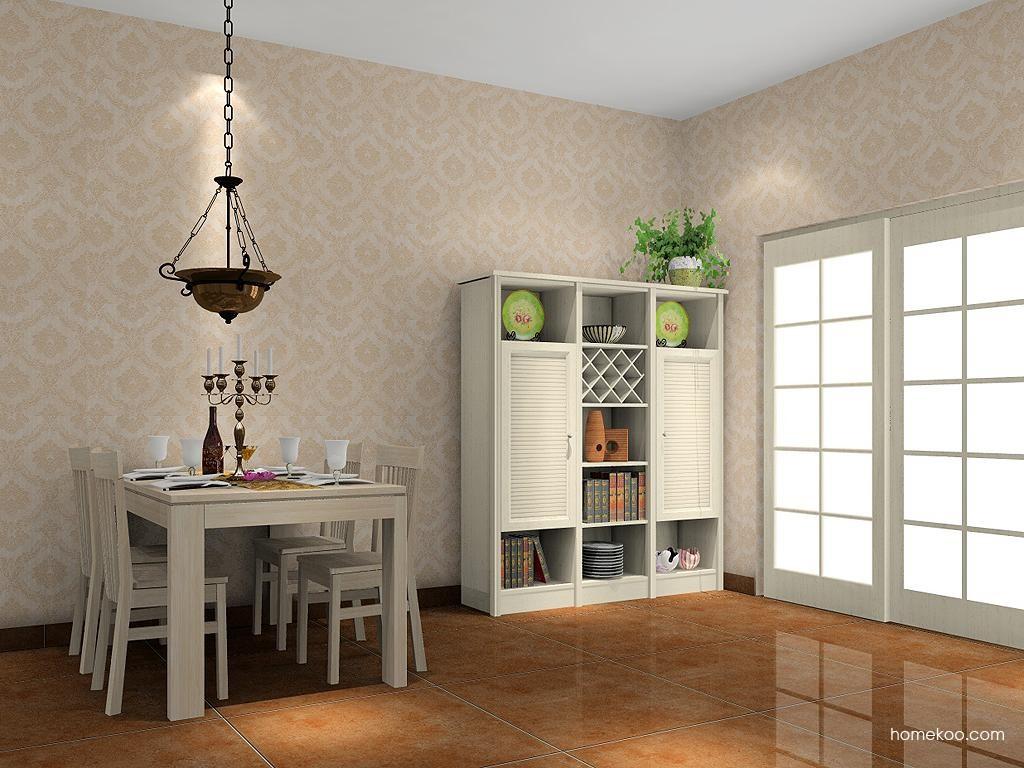 英伦印象餐厅家具E4595
