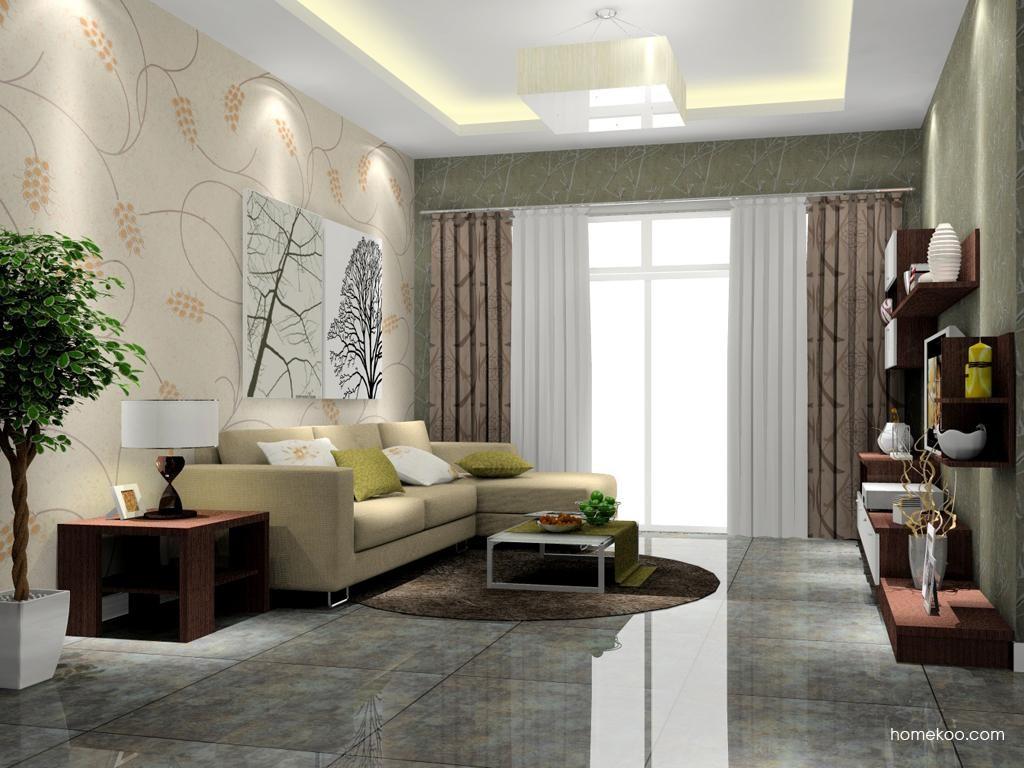 新实用主义客厅家具D7515