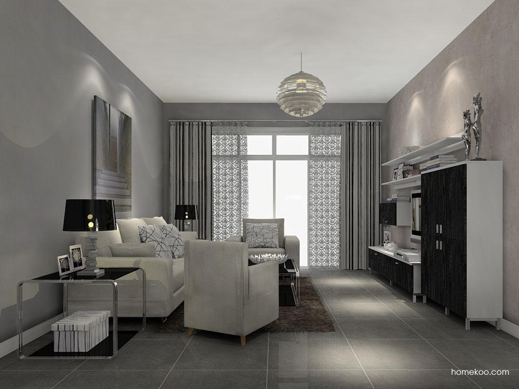 简约主义客厅家具D7516