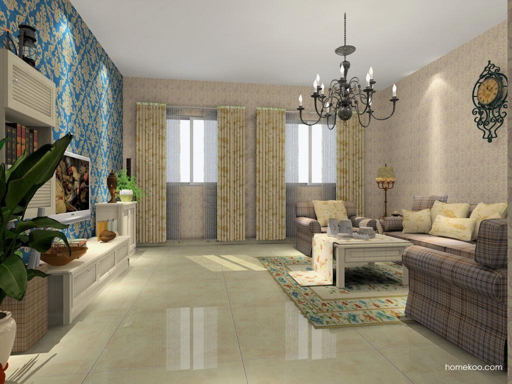 英伦印象客厅家具D7549