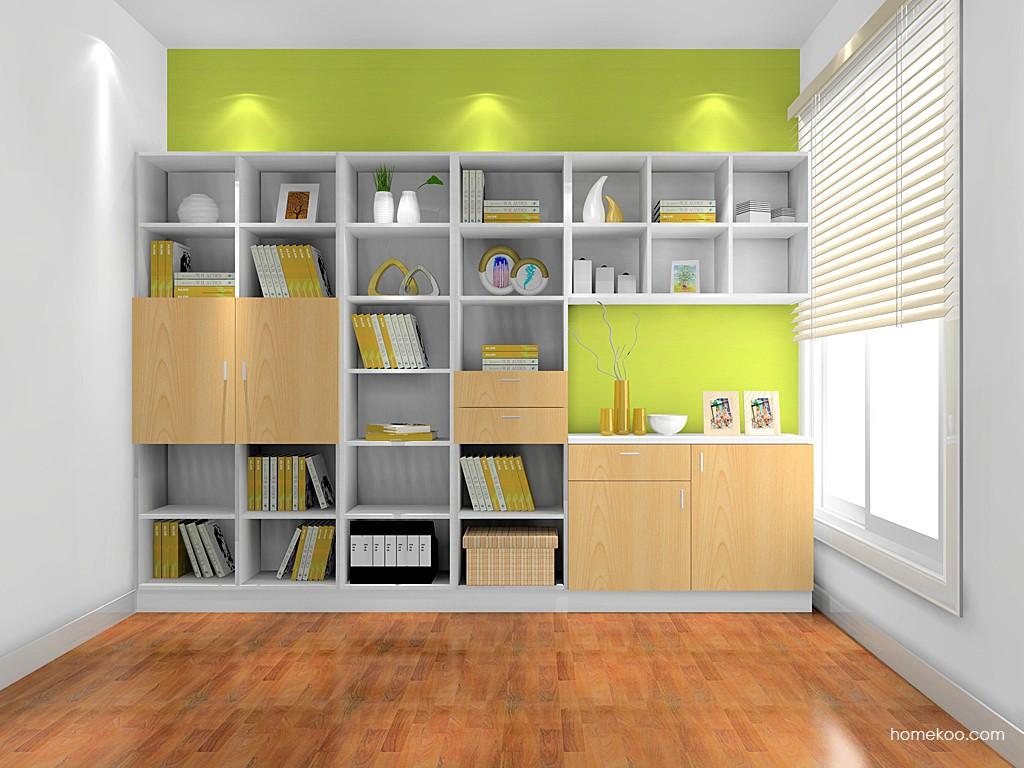 新实用主义书房家具C0839