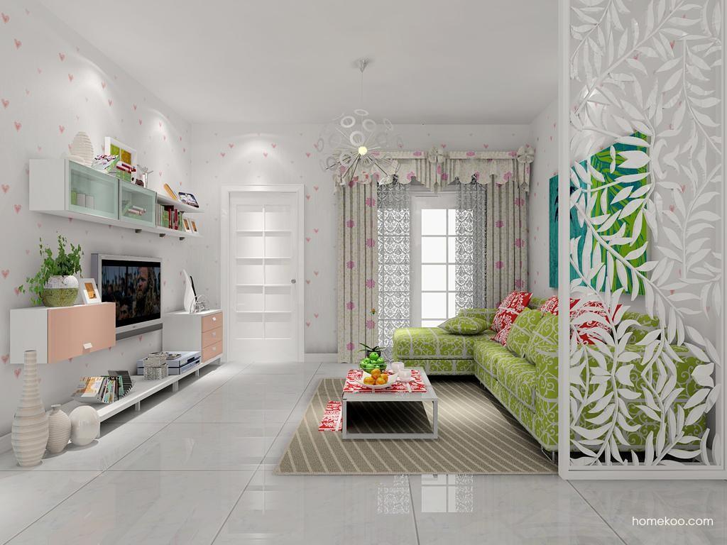 浪漫主义客厅家具D7561