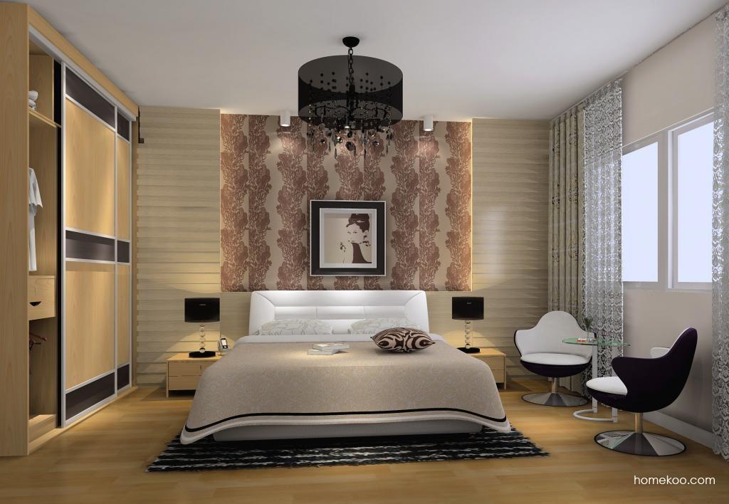 新实用主义卧房家具A8184