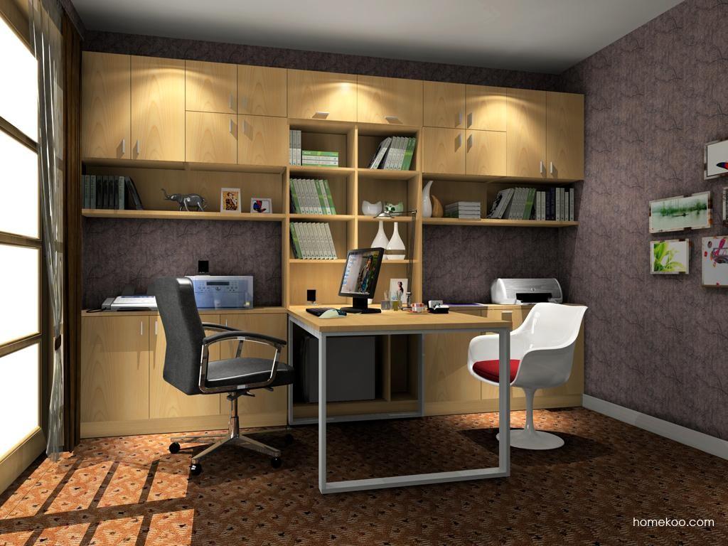 新实用主义书房家具C7897