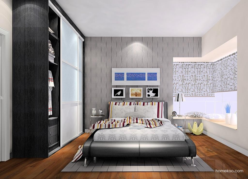 简约主义卧房家具A8208