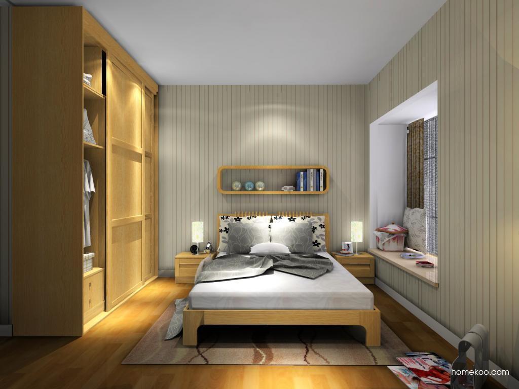 丹麦本色卧房家具A8222