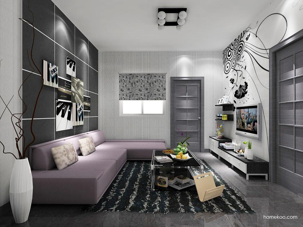 简约主义客厅家具D7611