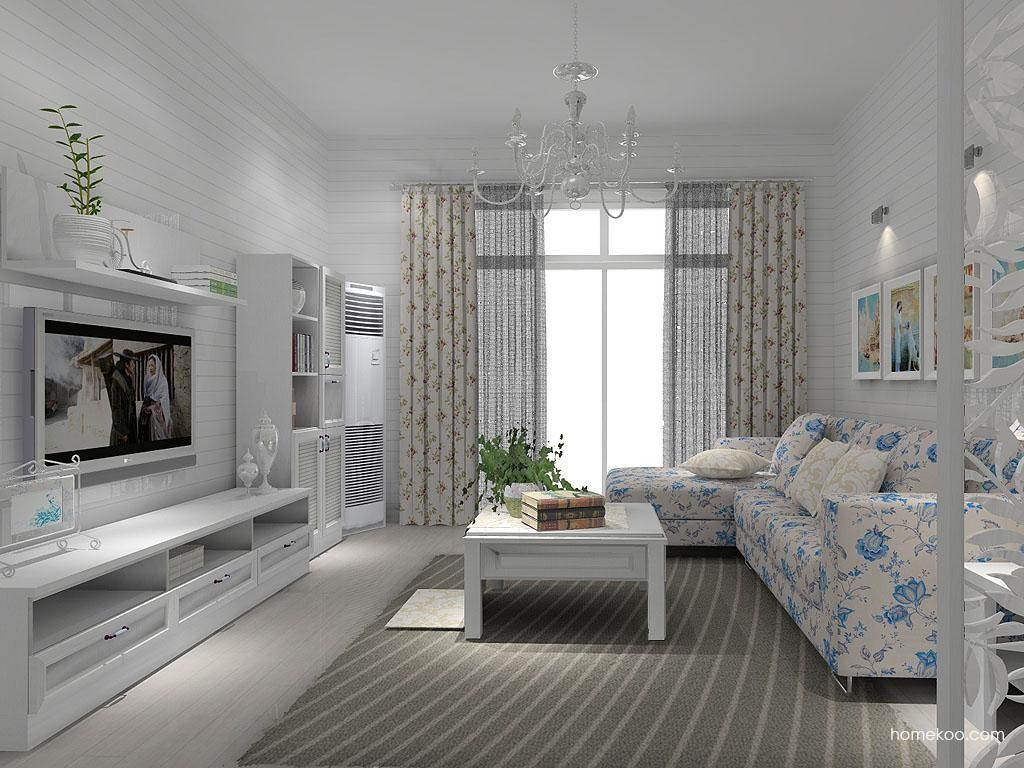 韩式田园客厅家具D7623