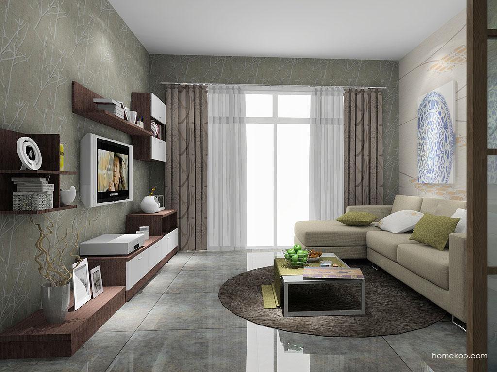 新实用主义客厅家具D7624