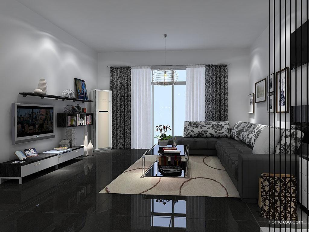 简约主义客厅家具D7625