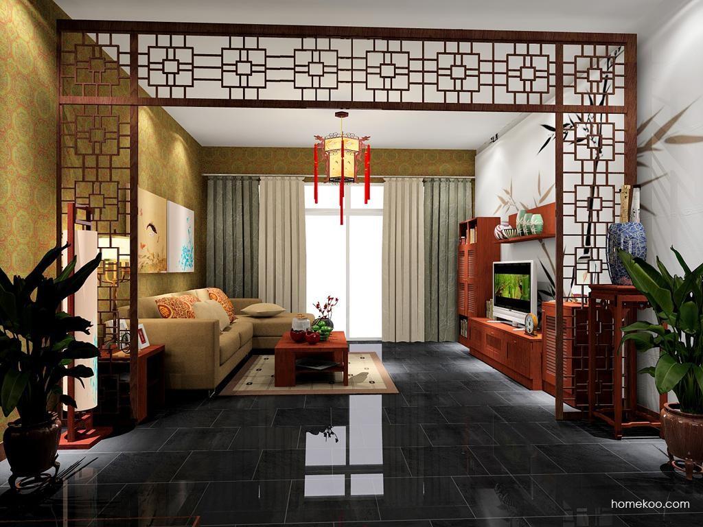 新中式主义客厅家具D7627