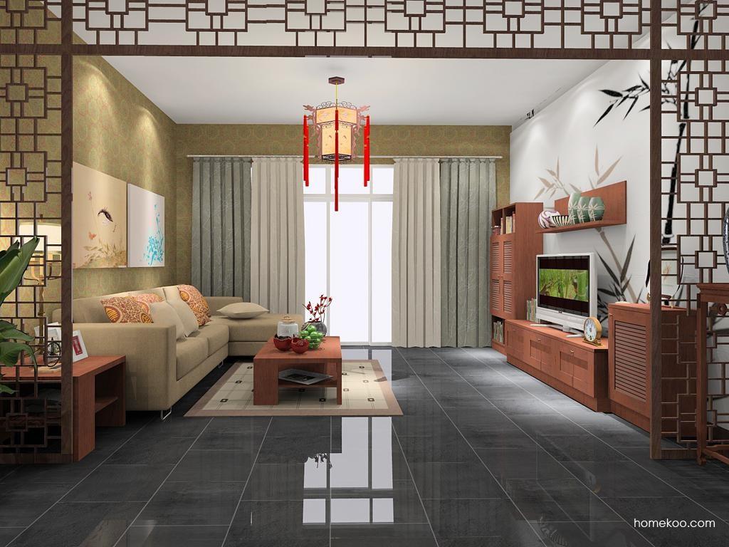 新中式主义客厅家具D7628