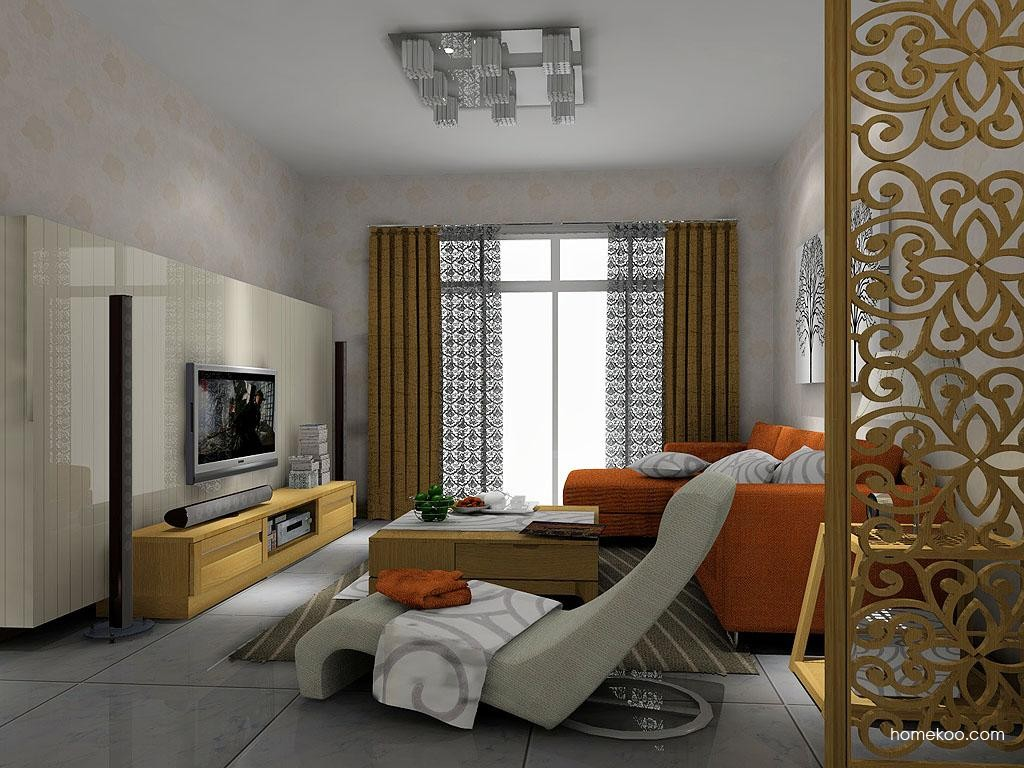 丹麦本色客厅家具D7639