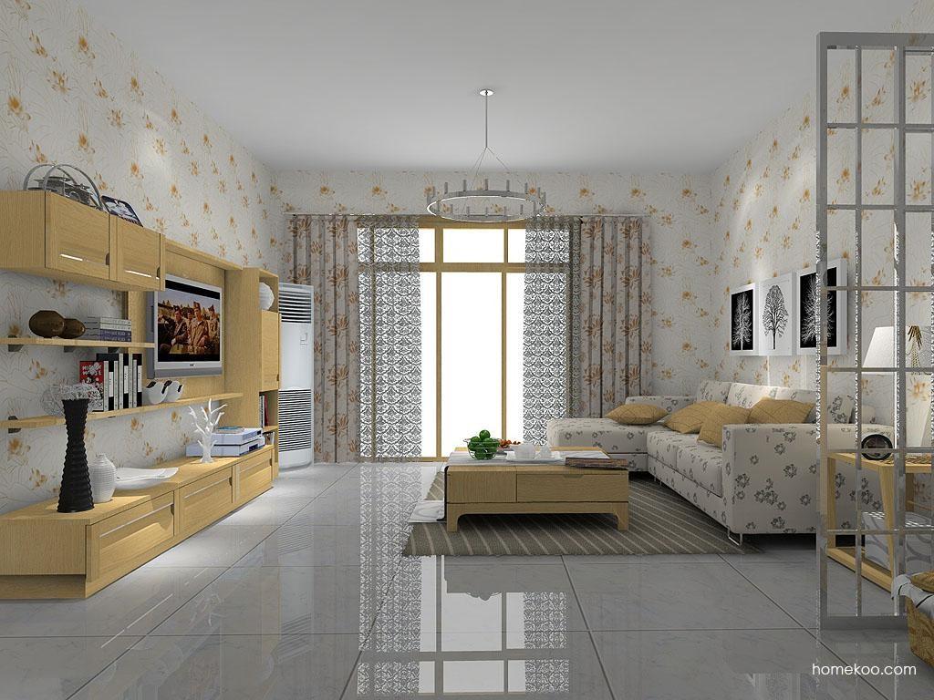 丹麦本色客厅家具D7640