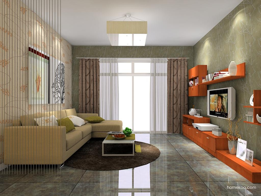 新实用主义客厅家具D7642