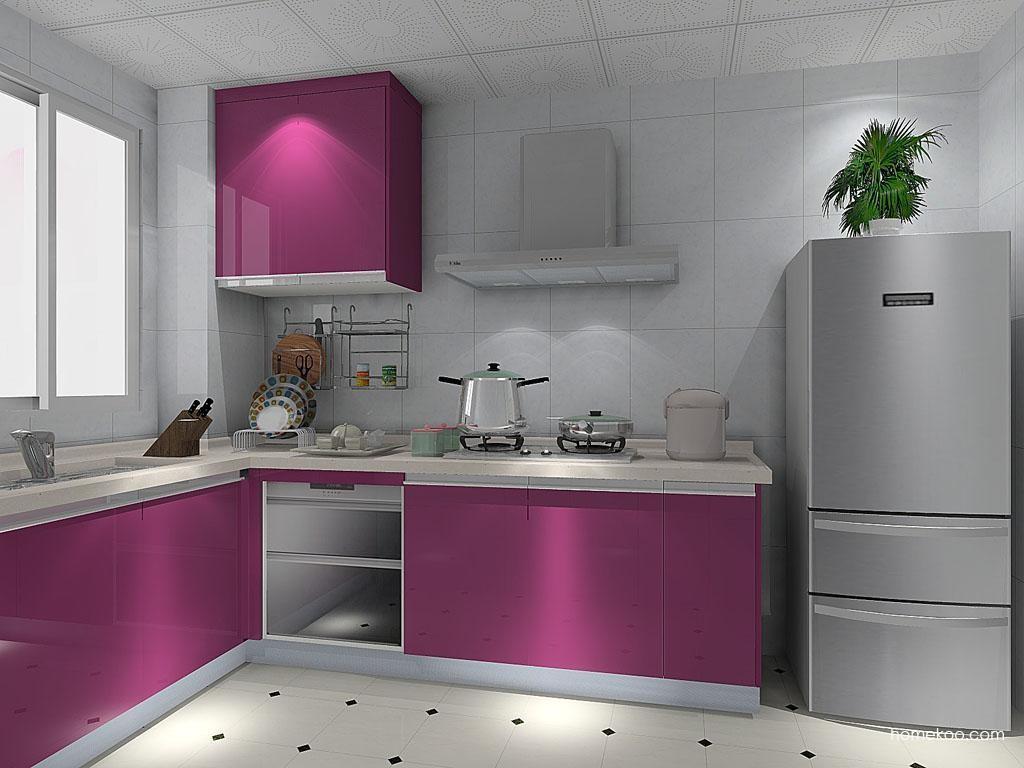 紫晶魅影橱柜F8827