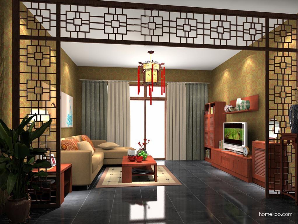 新中式主义客厅家具D7660