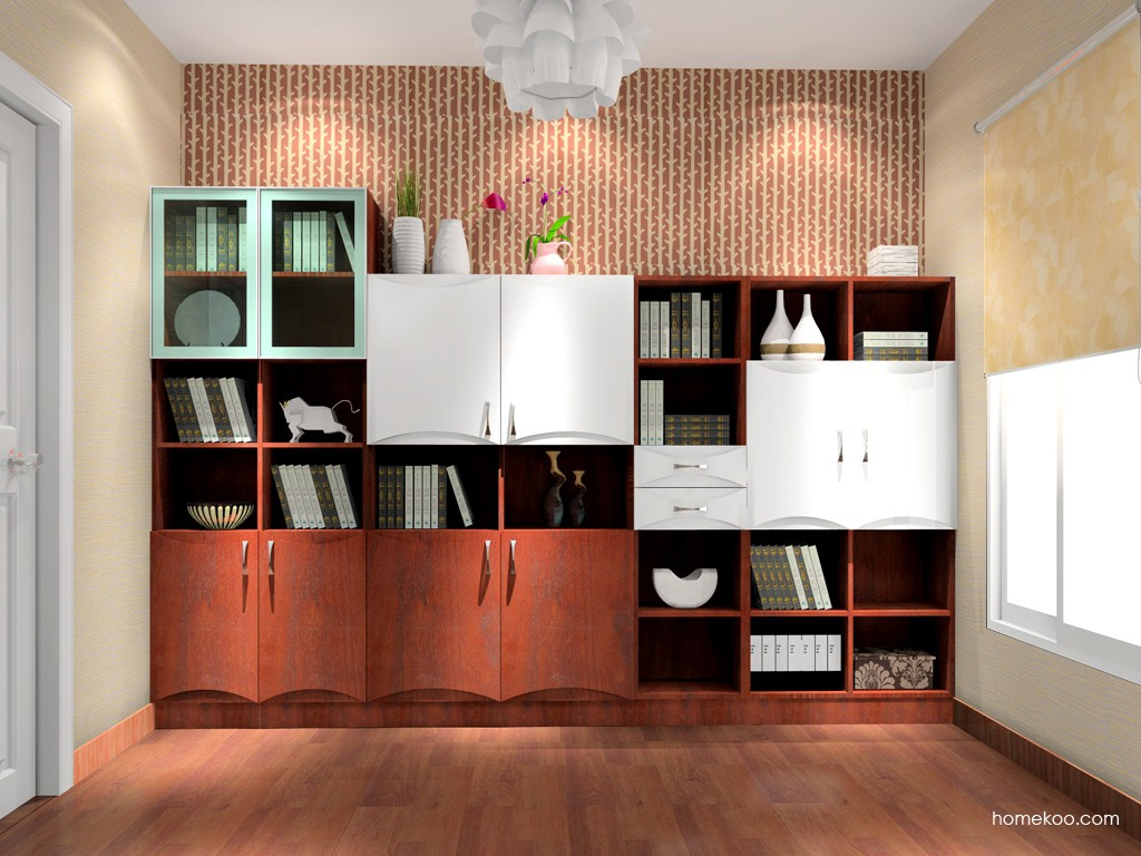 挪威月色书房家具C0858