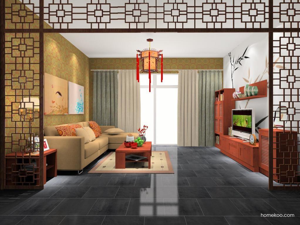 新中式主义客厅家具D7682