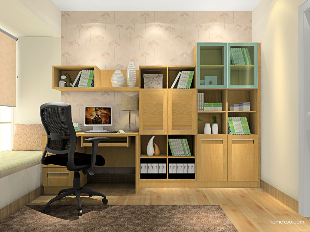 丹麦本色书房家具C7937