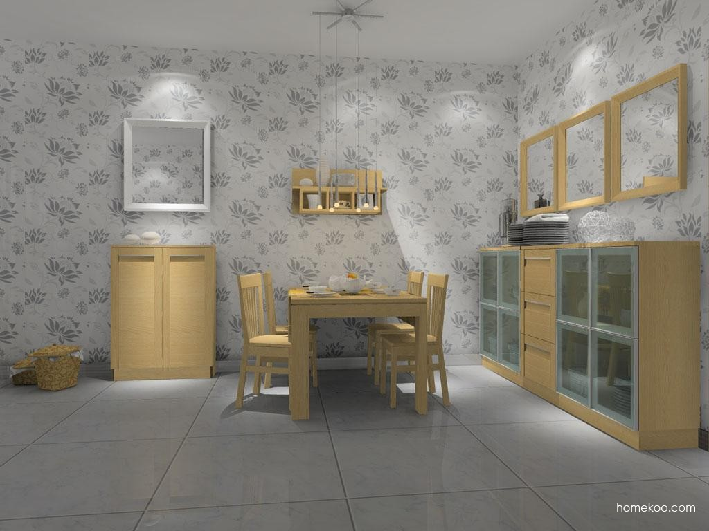 丹麦本色餐厅家具E7694