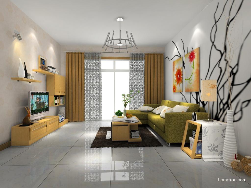 丹麦本色客厅家具D7698