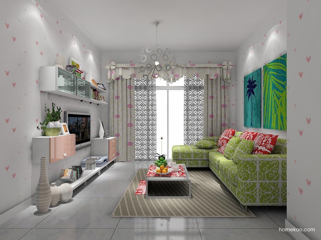 浪漫主义客厅家具D7706