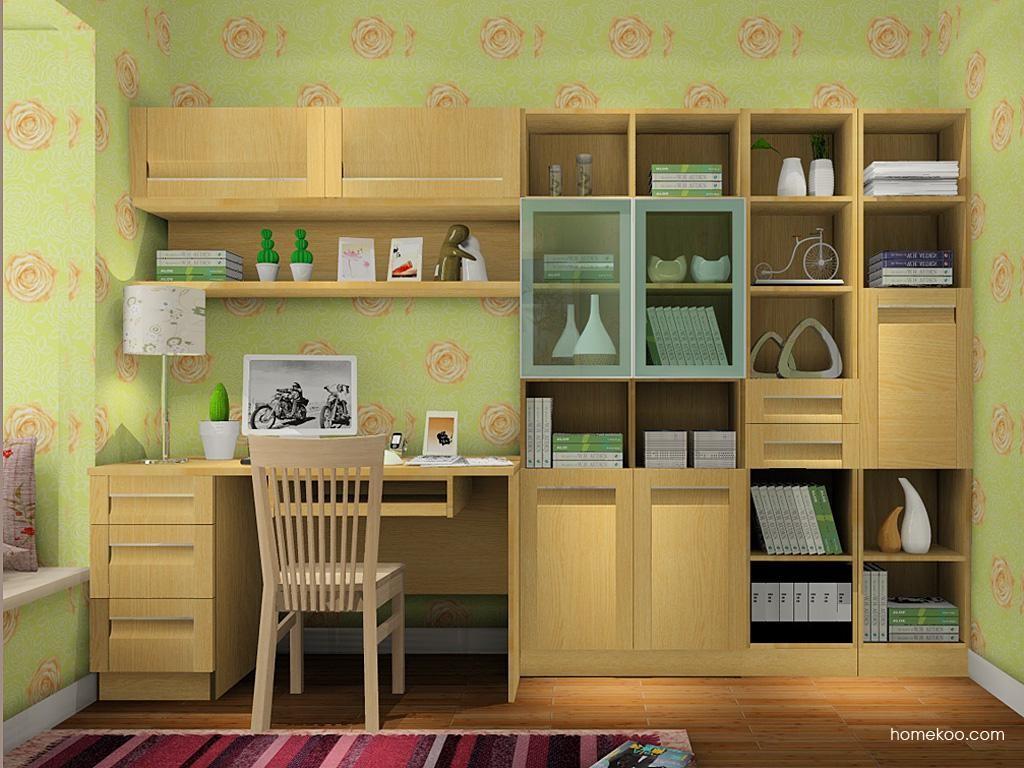 丹麦本色书房家具C7943