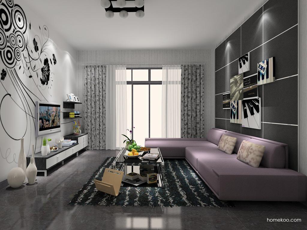 简约主义客厅家具D7707